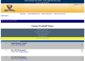 fantasyfootballnames.com