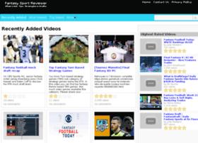 fantasysportreviewer.com