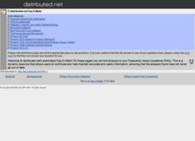 faq.distributed.net