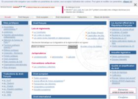 faq.legifrance.gouv.fr