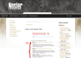 faq.nosler.com