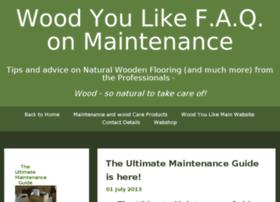 Faq.woodyoulike.co.uk