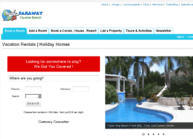 farawayvacationrentals.com