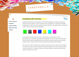 farbtabelle.at