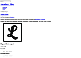 farcaller-blog.logdown.com