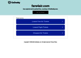 fare4air.com