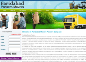 faridabadmoverspackers.com