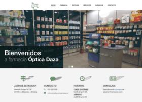 farmaciaopticadaza.com