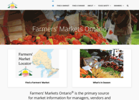 farmersmarketsontario.com