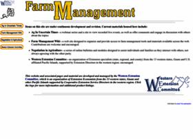 farmmanagement.org