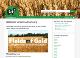 farmsubsidy.org