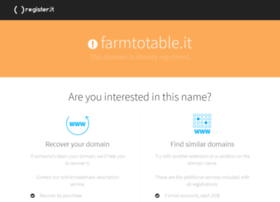 farmtotable.it