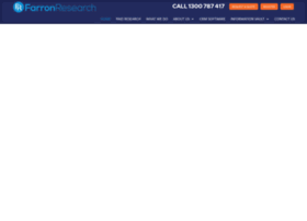 farronresearch.net.au