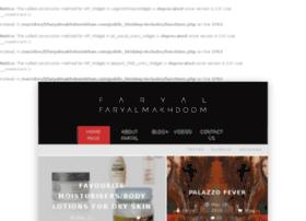 faryalmakhdoomkhan.com