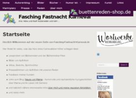 fasching-fastnacht-karneval.de