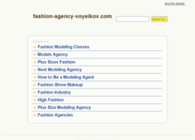fashion-agency-voyeikov.com
