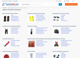 fashion-apparel.exportersindia.com