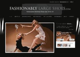 fashionablylargeshoes.com.au