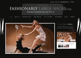fashionablylargeshoes.com