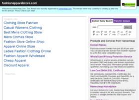 fashionapparelstore.com