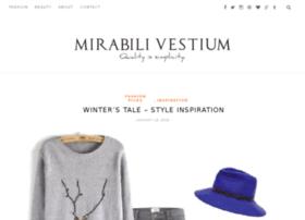 fashionblog.mirabilivestium.com