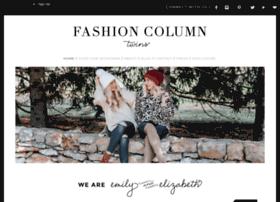 fashioncolumntwins.com