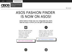 fashionfinder.asos.com