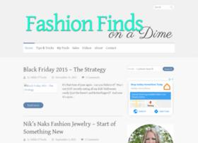fashionfindsonadime.com