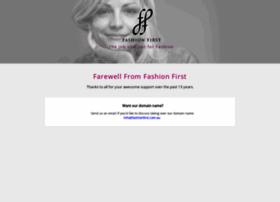 fashionfirst.com.au