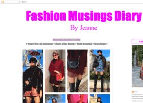 fashionmusingsdiary.blogspot.com