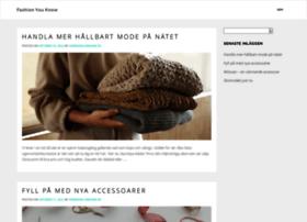 fashionyouknow.se