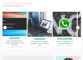 fast-networks.asia