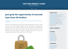 fastandfriendlyloanss.wordpress.com