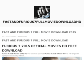 fastandfurious7fullmoviedownloadhd.wordpress.com