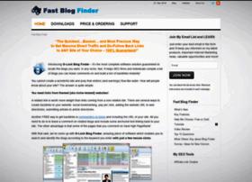 fastblogfinder.com