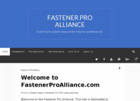 fastenerproalliance.com