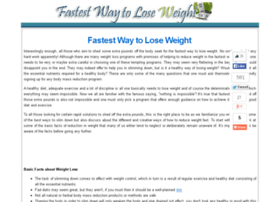 fastestwayloseweight.com