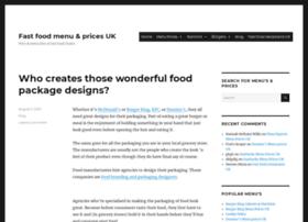 fastfoodprice.co.uk