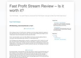 fastprofitstreams.blogspot.com