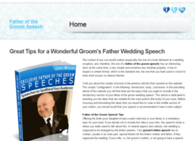 fatherofthegroom-speech.net