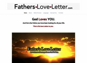 fathersloveletter.com