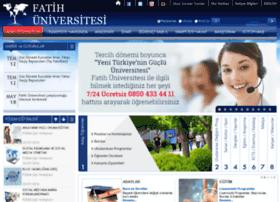 fatih.edu.tr