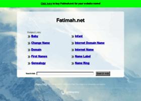 fatimah.net