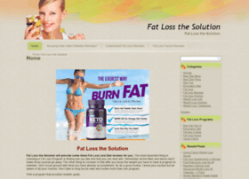 fatlossthesolution.com