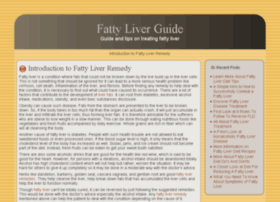 fattyliverguide.info