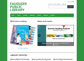 fauquierlibrary.org