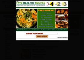 favehealthyrecipes.com