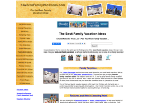 favoritefamilyvacations.com