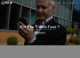 fax.de