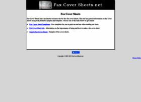 faxcoversheets.net